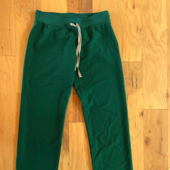 Hunter Green Basic Livingston Scrub Pants